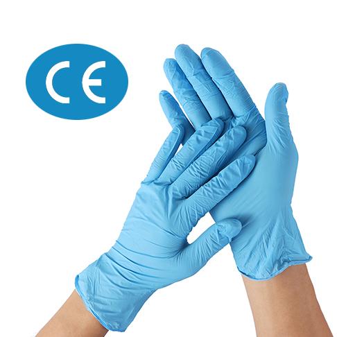 CE Marked Nitrile Gloves